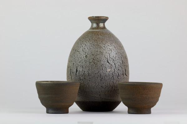 Sake-Set Tanka-Keramik