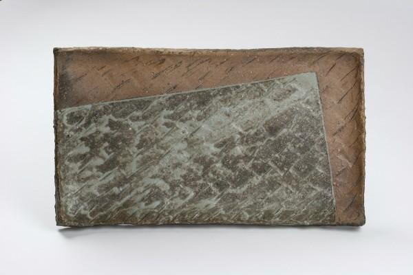 Keramikplatte -Tanka-Kakuozara-