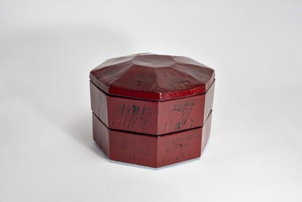 Jyubako-Lack-Keramik mit Teller