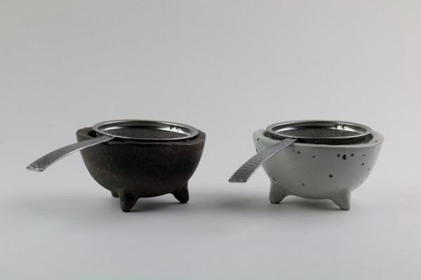 Teeschalen-Set Shigaraki Yaki-Keramik