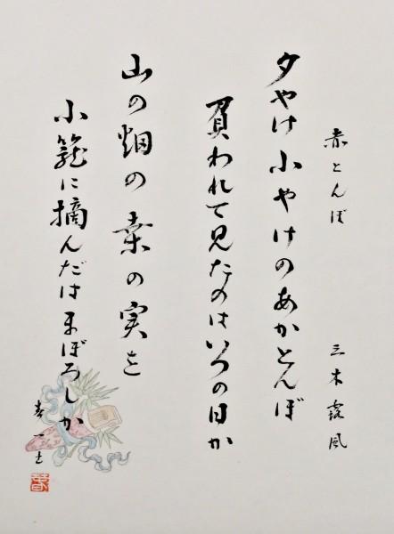 Shodo -Akatombo-