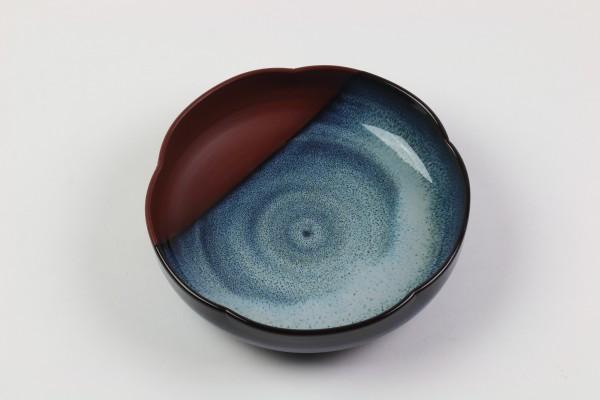 Keramikschale Mumyoui Yaki-Keramik