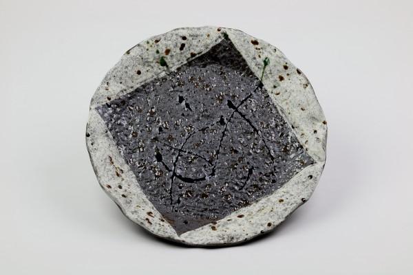 Mino Yaki-Keramik Zarame-Yuki