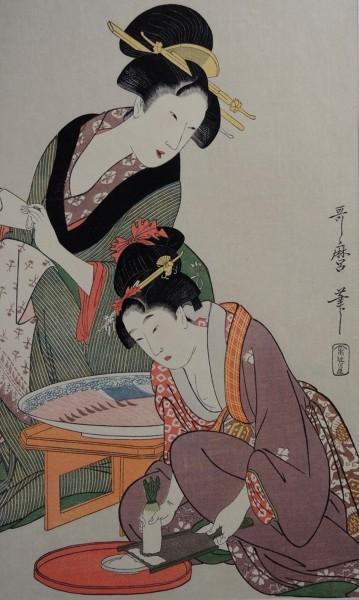 Ukiyo-e -Sashimi-