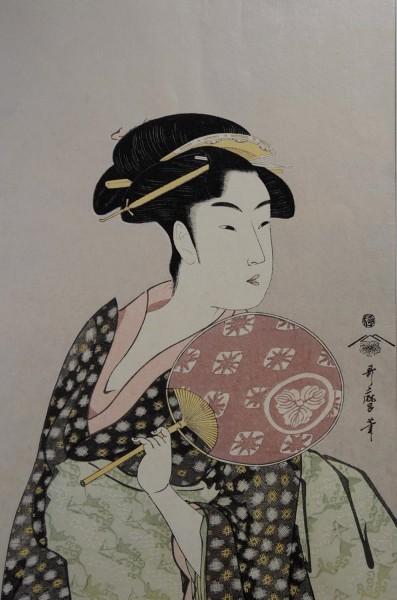 Ukiyo-e -Takashimaya Ohisa-